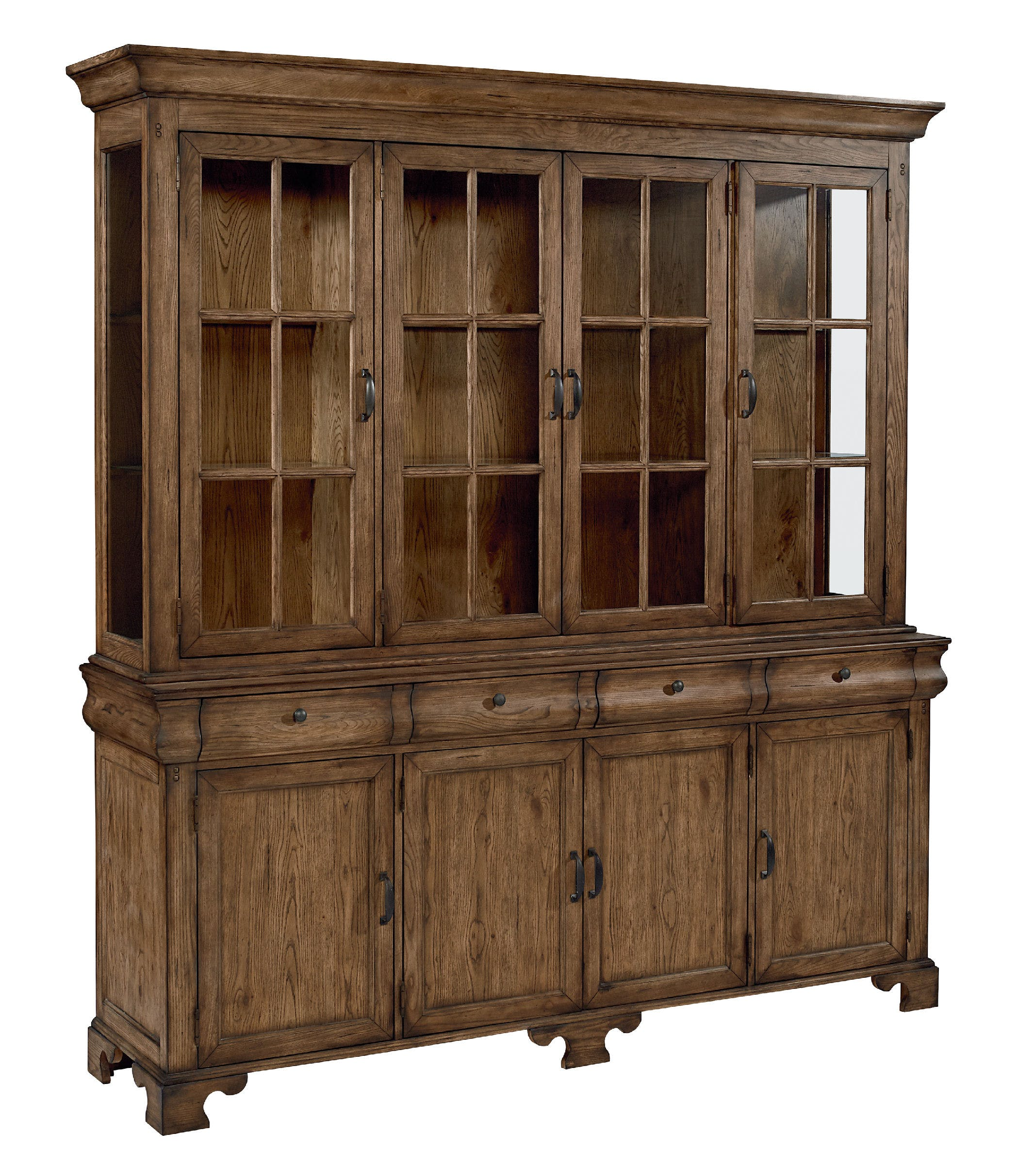 Showcase Buffet & Hutch | Magnolia Home | Star Furniture of Texas