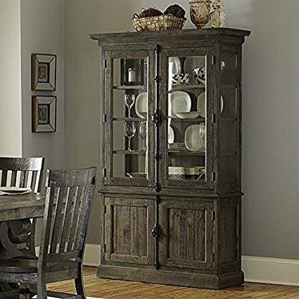 Amazon.com - Magnussen Bellamy Wood China Cabinet in Pine - China