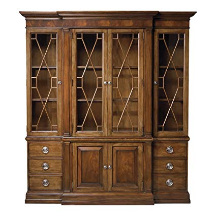 Amazon.com - Ethan Allen Wooster China Cabinet, Saratoga - China