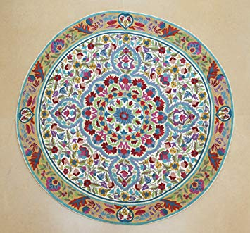 Amazon.com : 5 ft round, Mandala rug, floral area rugs, cool rugs