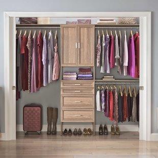 Closet Systems & Organizers You'll Love | Wayfair
