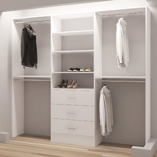 Utilizing space using Closet Systems