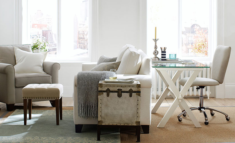 How To Choose Furniture Small Space | Pottery Barn