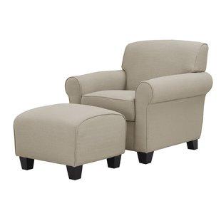 Accent Chairs Ottoman   Wayfair