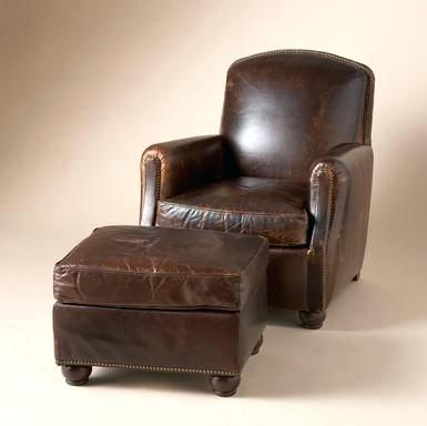 Leather Chairs With Ottoman Leather Chair And Ottoman Sets Awesome