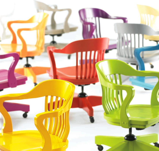 Colorful Office Chairs | Brainstorming Spaces | Pinterest | Colorful