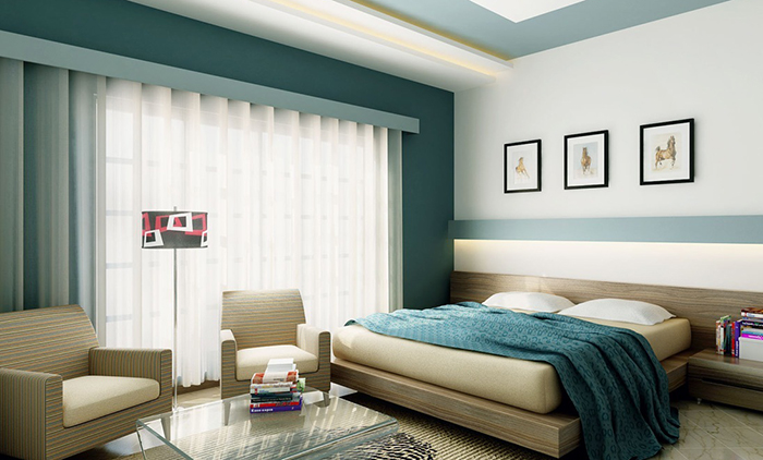 Waking Up Well-Rested May Depend On The Color Of Your Bedroom Walls