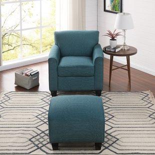 Comfortable Chair With Ottoman | Wayfair