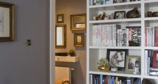 15 Small Home Libraries That Make a Big Impact in 2019 | library
