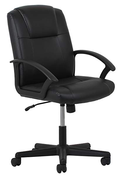 Amazon.com: Essentials Leather Executive Office/Computer Chair with