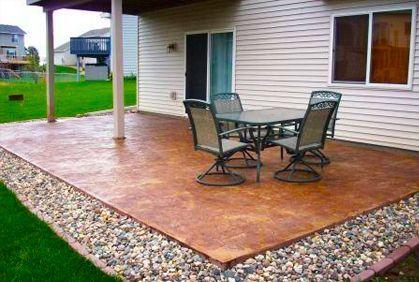 DIY Patios On A Budget | Best Concrete Patio Designs Ideas Pictures