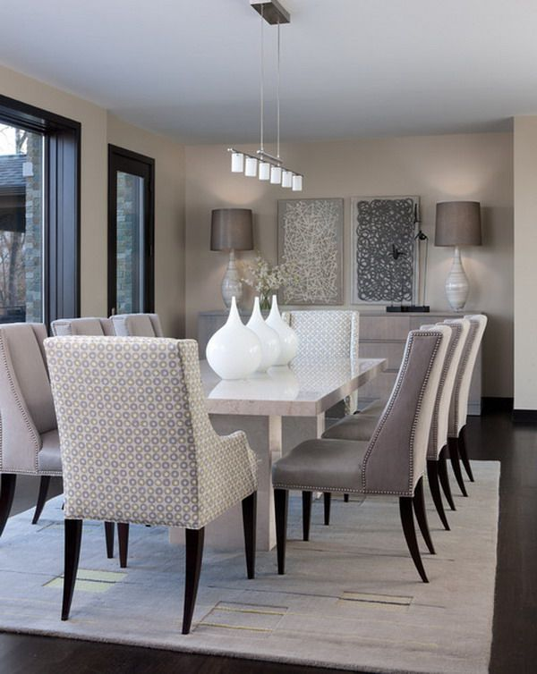 15 Pictures of Dining Rooms | Home | White dining table, Dining room