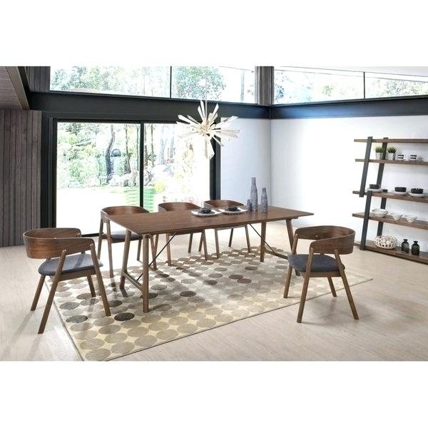 Mid Century Modern Dining Tables Shop Mid Century Modern Walnut