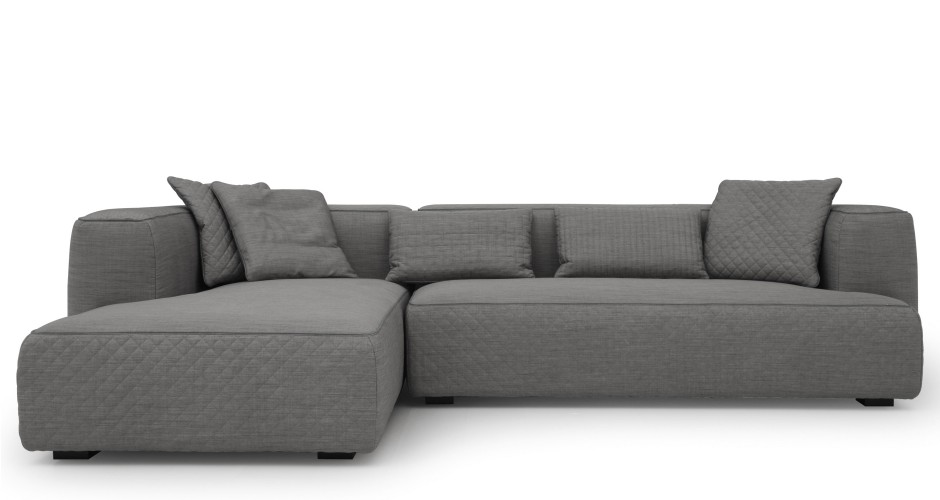 gray sectional sleeper sofa modern 2016 - Sectional Sleeper Sofa in