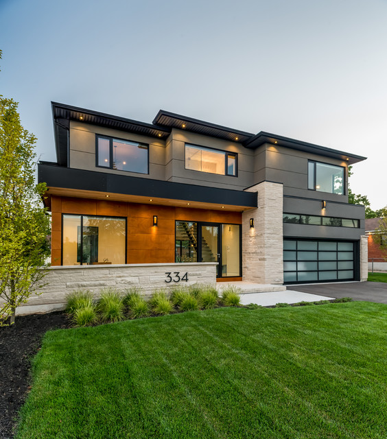 Southview Modern Home - Contemporary - Exterior - Toronto - by