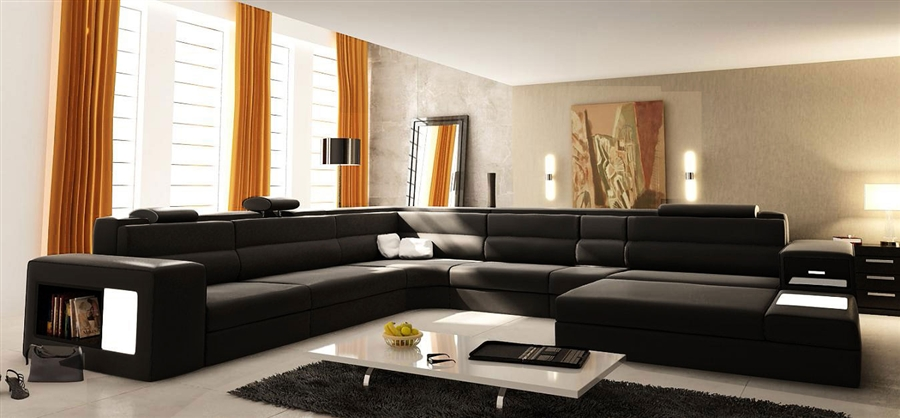 Modern Italian Design Sectional Sofa TOS-LF-2205