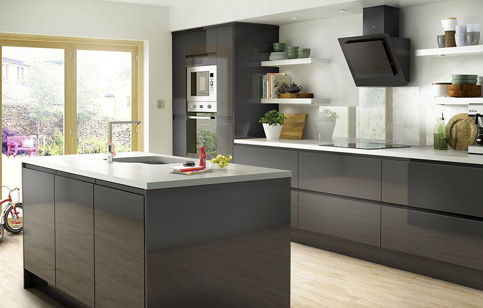 Contemporary kitchen design ideas | Ideas & Advice | DIY at B&Q