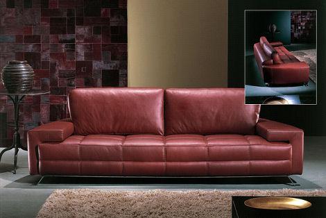 Contemporary Sofa from Casa Nova - the leather sofa Carmel