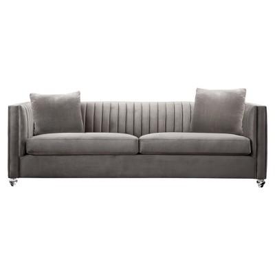 Armen Living Emperor Contemporary Sofa Beige : Target