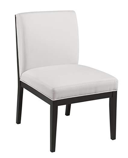 Amazon.com - Sunpan Modern Othello Dining Chair, White - Chairs