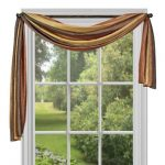 Contemporary Window Scarves