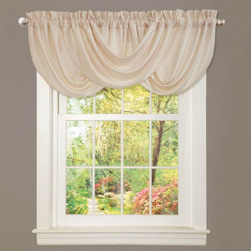 Contemporary Valances And Window Scarves | Bellacor