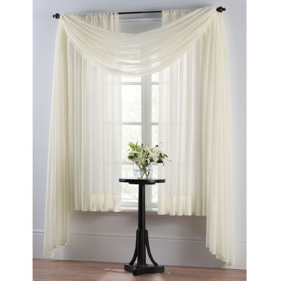 SmartSheerâu201e¢ Energy Saving Window Curtain Panel - BedBathandBeyond