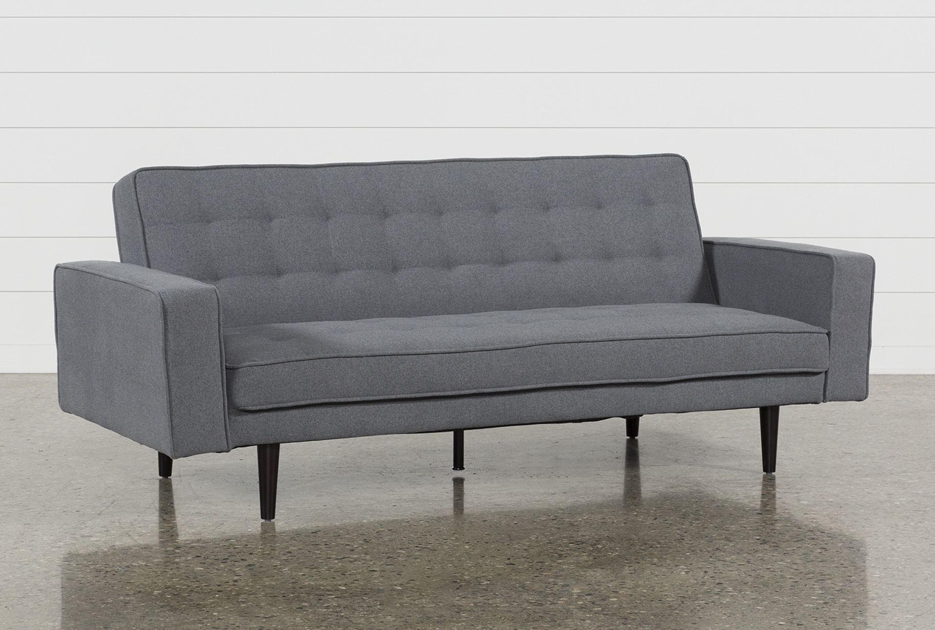 Petula Slate 2 Piece Convertible Sofa Bed | Living Spaces