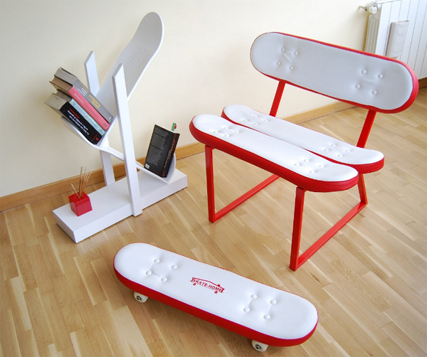 cool-furniture-ideas-with-skateboard-style-from-skate-home | Home