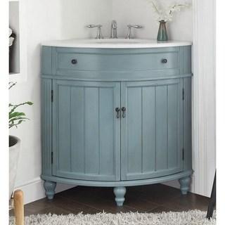 Buy Corner Bathroom Vanities & Vanity Cabinets Online at Overstock