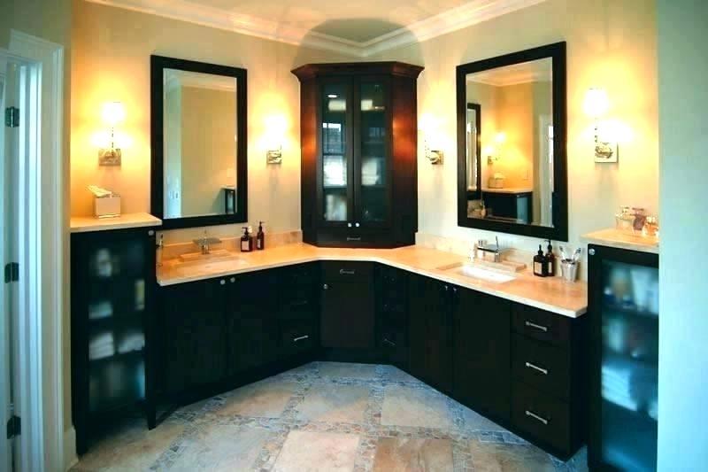 Corner Bathroom Vanity Cabinets Corner Sink Bathroom Vanities