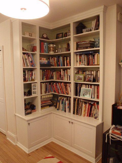 corner bookcase in 2019 | Ideas for the House | Pinterest | Corner