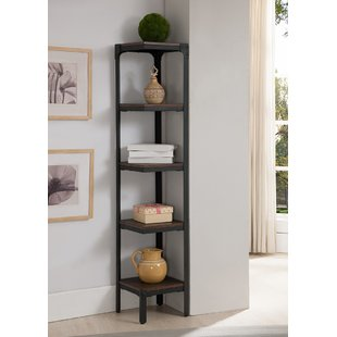 Corner Bookcases You'll Love | Wayfair