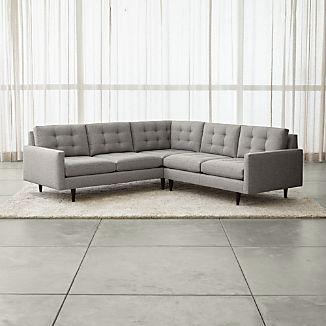 Corner Sofas   Crate and Barrel