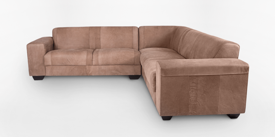 Terry Leather Corner Couch   Corner Couches   Coricraft