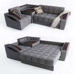 Space saving Corner Sofa Bed