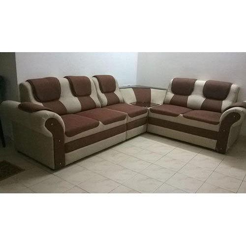 Marron Base Office Corner Sofa Sets, Rs 20000 /set, Farn Bro Sofas