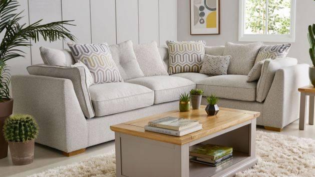 Corner Sofas | L Shaped Sofas | Fabric Corner Sofas | Oak Furnitureland
