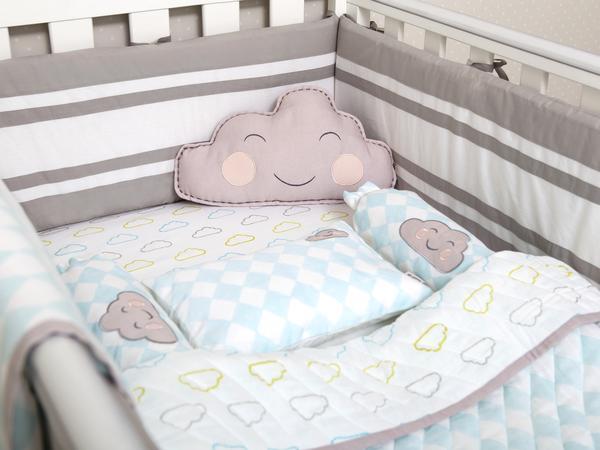 Newborn Organic Crib Bedding Set | Masilo Linen for Littles
