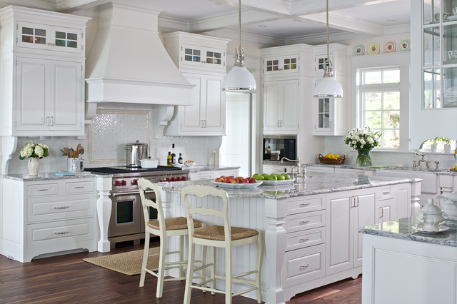 White Cottage Kitchen - Traditional - Kitchen - Grand Rapids - by