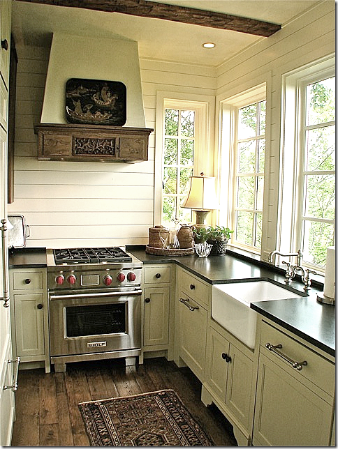 Cottages & Cabins | my house (some day) | Small cottage kitchen