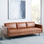 Enhance your room with couch in leather