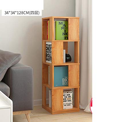 Amazon.com: JX&BOOS Swivel Bookshelf,Floor Rack Simple Bookcase
