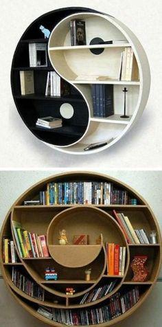 769 Best Creative Bookshelves images | Diy ideas for home