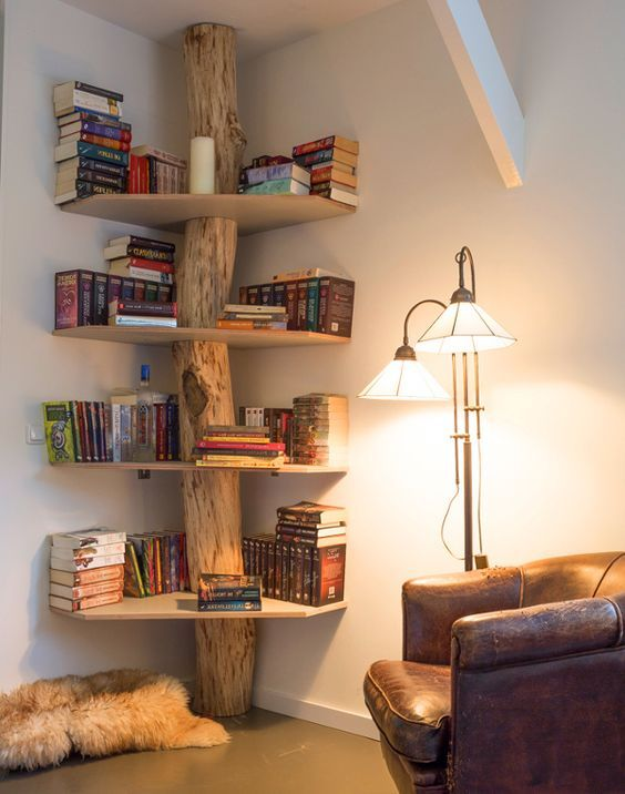 15 Insanely Creative Bookshelves You Need to See | Reading Nook