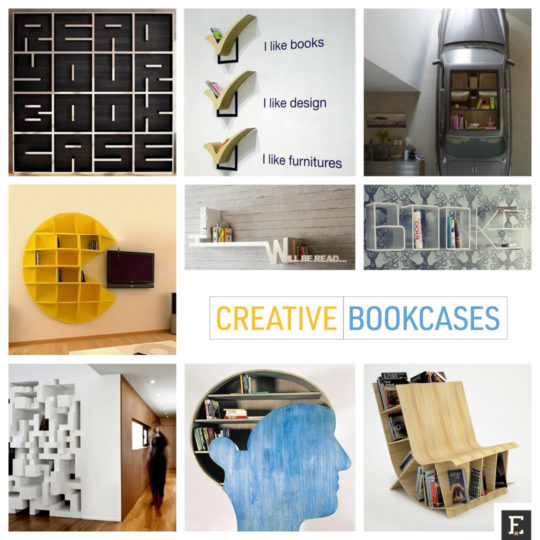 25 creative bookshelves and bookcases
