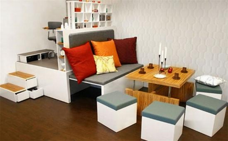Design Ideas For Small Spaces, Creative Home Bedding Creative
