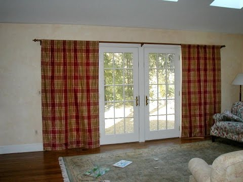 French Door Curtains - Ideas For French Door Curtains - YouTube