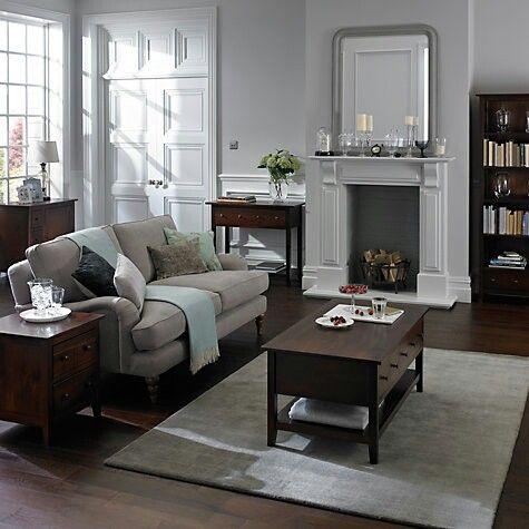 John Lewis home decor | Bonus Room | Dark wood furniture, Dark