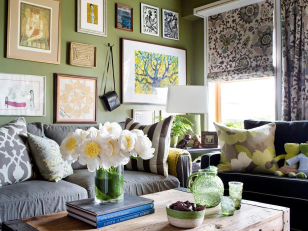 Living Room Ideas, Decorating & Decor | HGTV